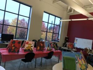 Paintings from Office painting session