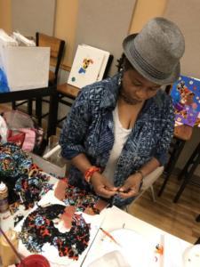 Art of Diaspora Art with Happiness Akaniro