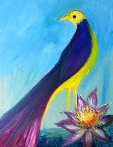 Long Tail Bird